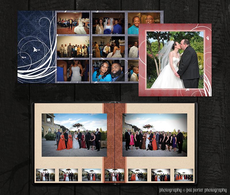 wedding albums